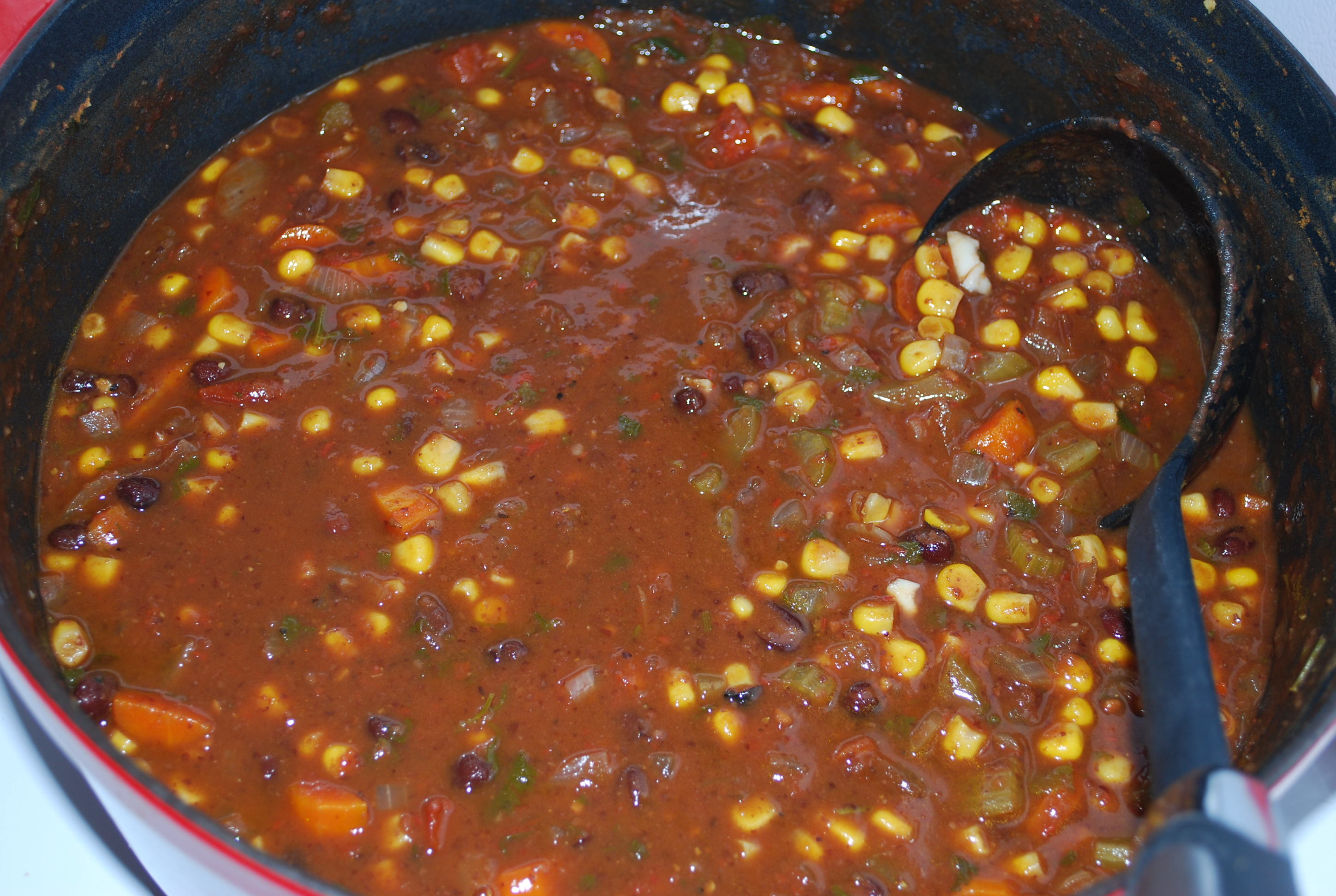 how to make black bean soup from scratch