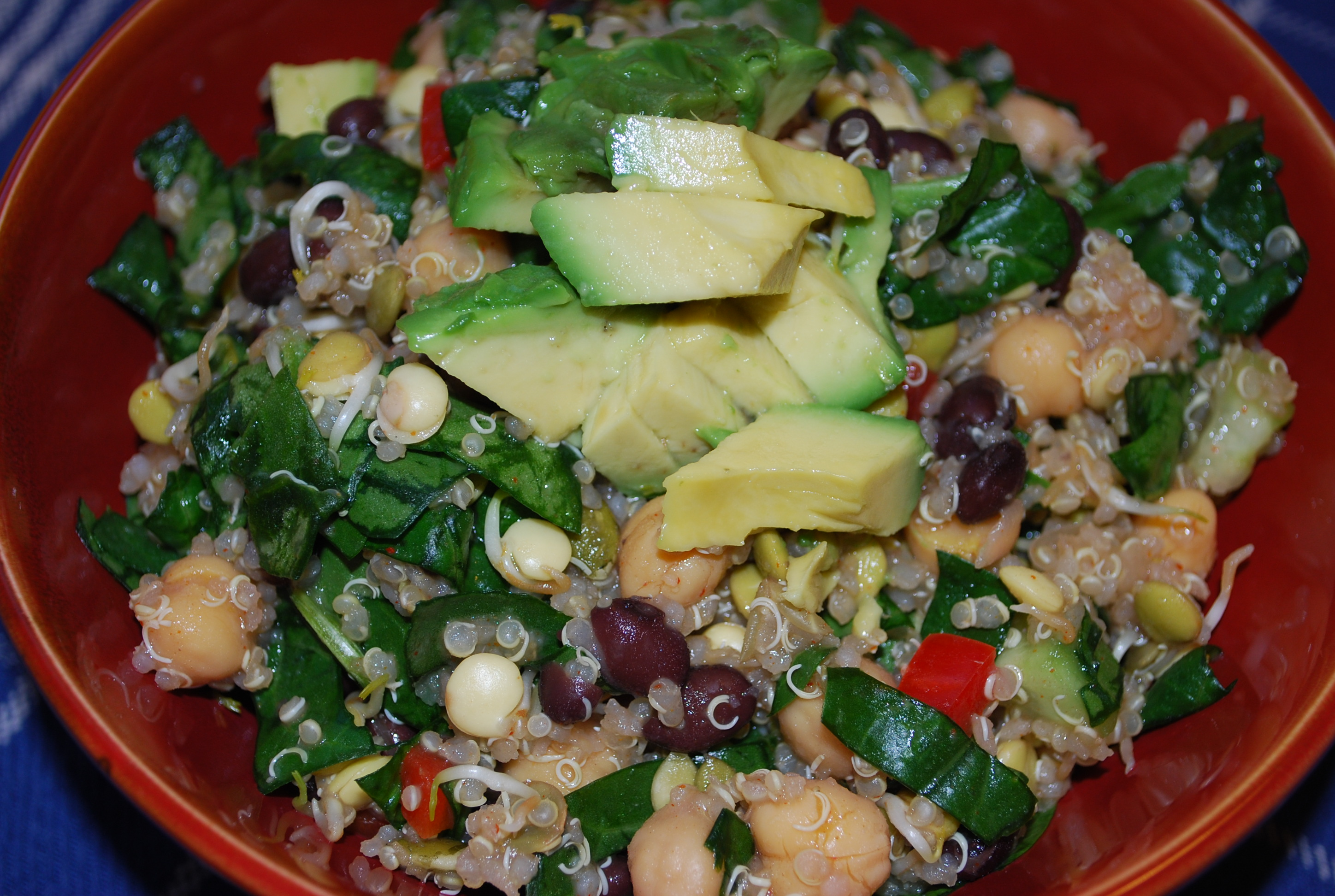 Serve with chopped avocado!