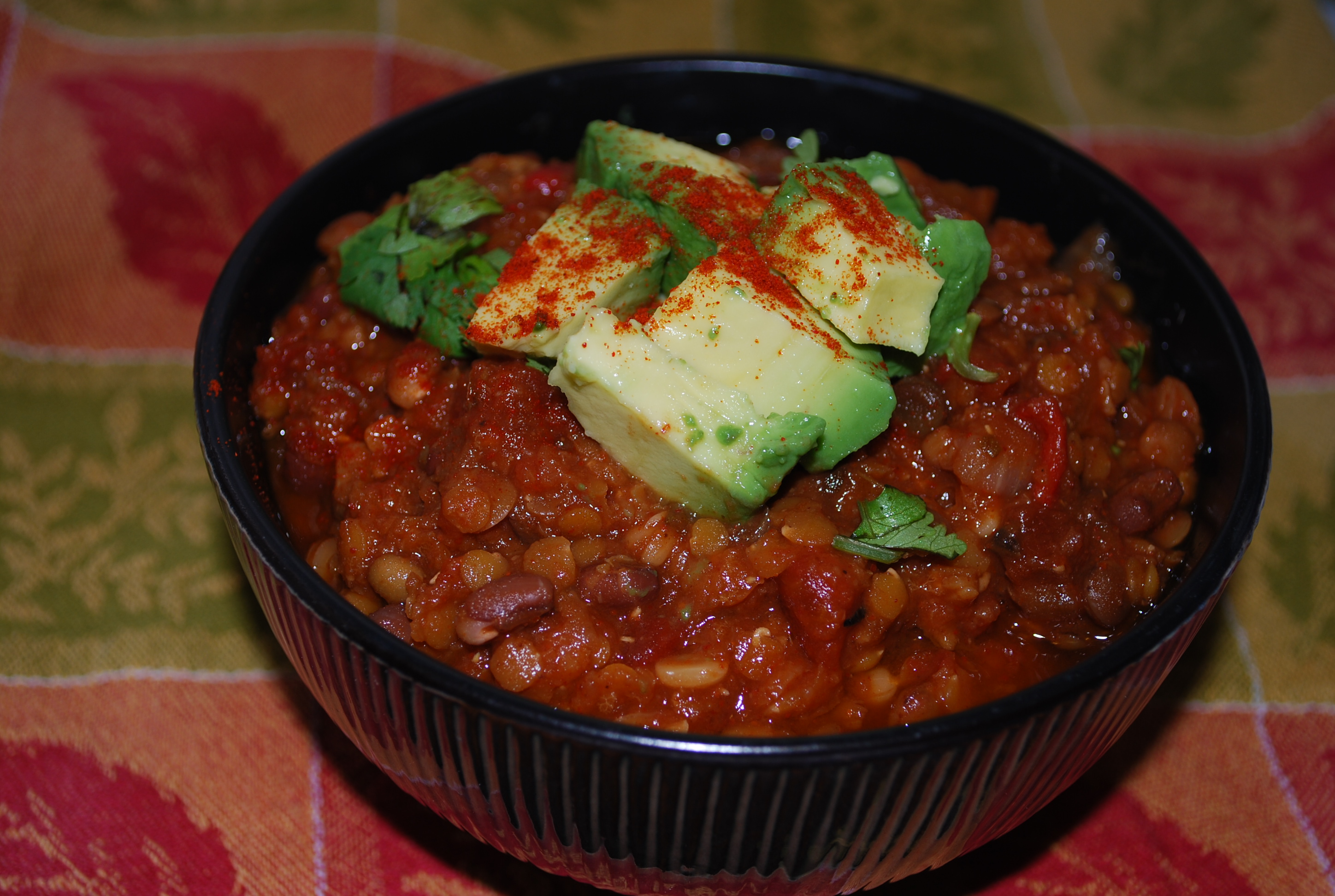 Best Lentil Chili Ever