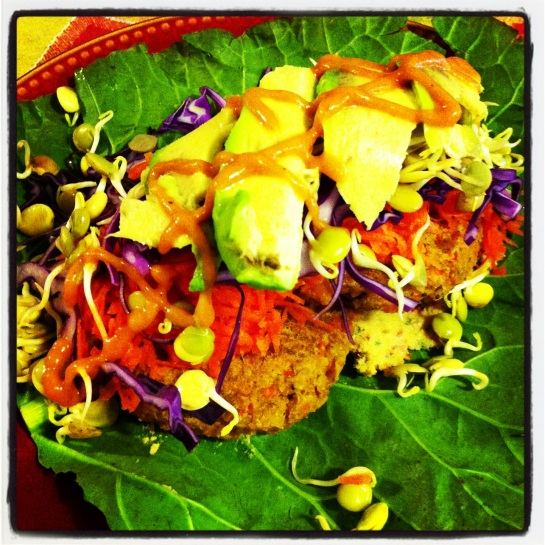 Chickpea Curry Burgers