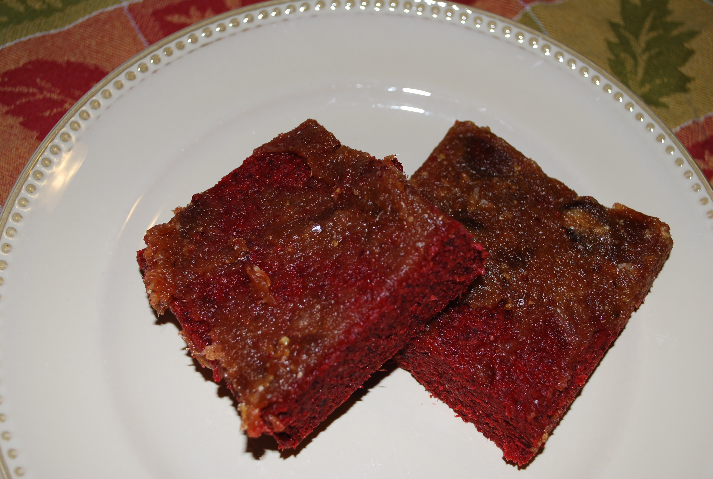 Raw Beet Date Cake Recipe