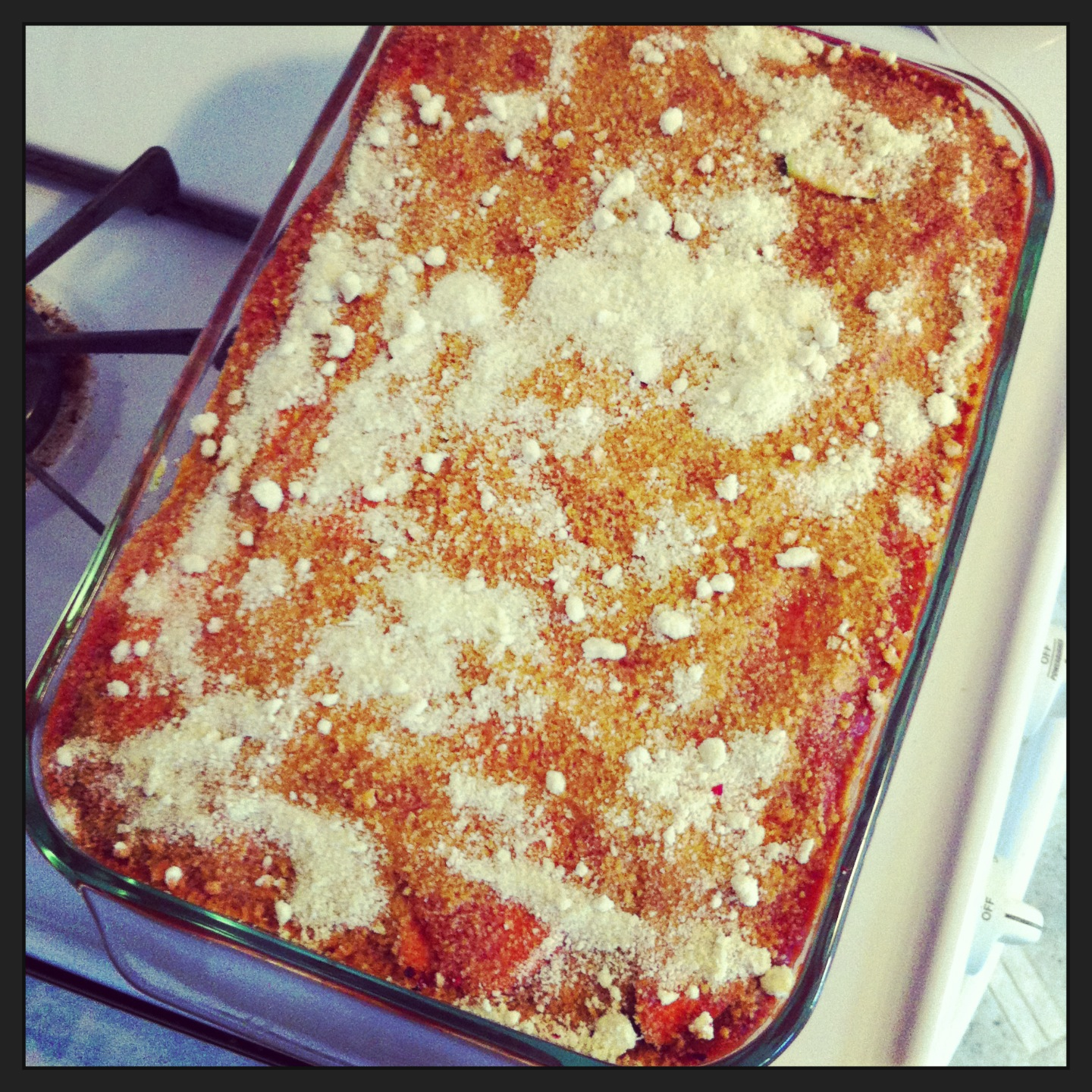 Tonight's lasagna!